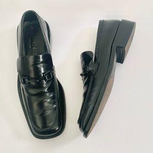 Gucci Horsebit Leather Loafer - Black, 7.5